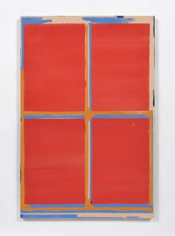 Kevin McNamee-Tweed, Red Window with Sky and Marigold, 2019 , Steve Turner