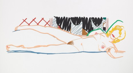 Tom Wesselmann , Rosemary Reclining with Motherwell, 1990 , Almine Rech