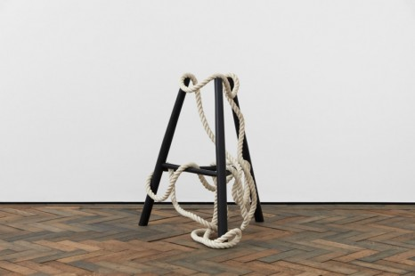 Ricky Swallow , Standing Form with Rope ('A' Stool), 2020 , Modern Art