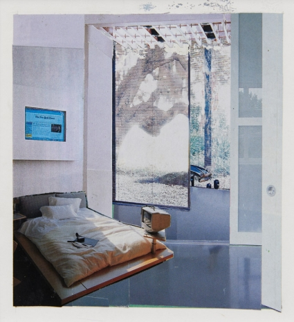 Dexter Dalwood, Bill Gates' Bedroom, 2001, Simon Lee Gallery