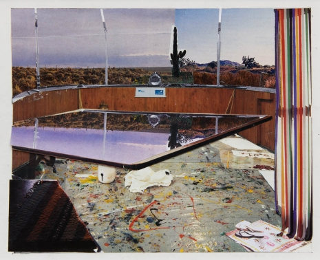 Dexter Dalwood, Captain Beefheart's Desert Trailer, 2001, Simon Lee Gallery