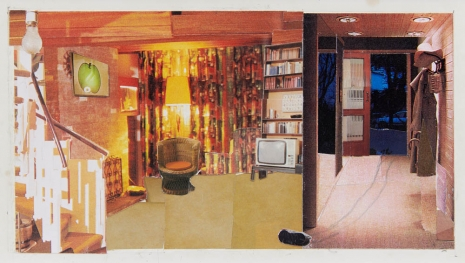 Dexter Dalwood, Patty Hearst's Apartment, 1999, Simon Lee Gallery