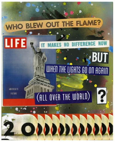 Allen Ruppersberg, Who Blew Out The Flame?, 2020, Mai 36 Galerie
