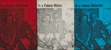 Billy Apple, The Presidential Suite: To a Future Historian, 1964 , The Mayor Gallery