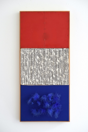 Armando , Triptych (Nul): Rood-Wit-Blauw & Orange Pennon, 1962 , The Mayor Gallery