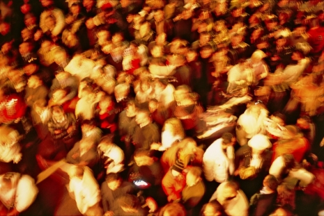 Nan Goldin, The crowd, Paternò, 2004, Marian Goodman Gallery