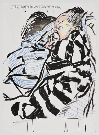Raymond Pettibon, No Title (First baybyy to), 2012, Sadie Coles HQ