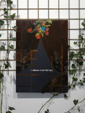 Laure Prouvost, The Hidden Spring Production - Climbing to better time, 2021 , Galerie Nathalie Obadia