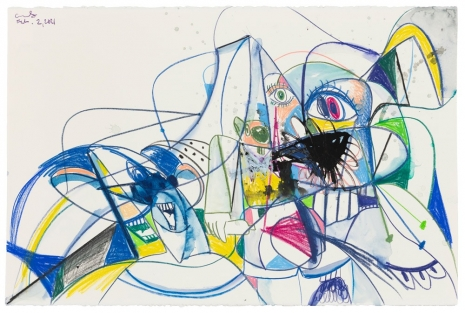 George Condo, Scrambled Heads, 2021 , Sprüth Magers