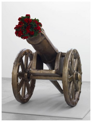 Jeff Koons, Toy Cannon, 2007, Almine Rech Gallery