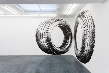 Neil Campbell, Big Rubber, 2012, Office Baroque