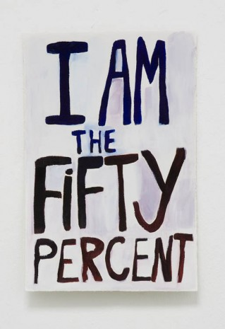 Xavier Stentz , I am the fifty percent , 2012, Exile