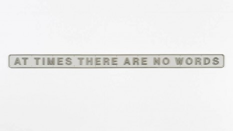 Darren Almond	, At Times There Are No Words, 2012, Galerie Max Hetzler