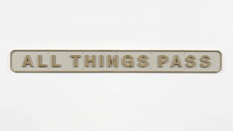 Darren Almond	, All Things Pass, 2012, Galerie Max Hetzler