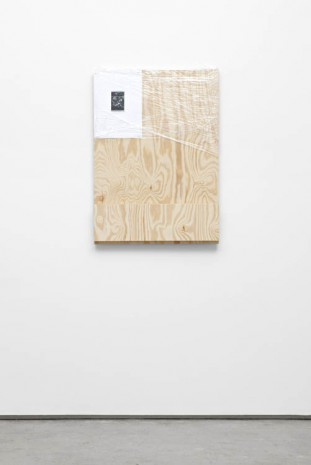 Matias Faldbakken and Fredrik Værslev, Shelf Paintings (Printing Money) #04, 2012, STANDARD (OSLO)
