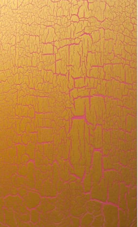 Ed Moses, Gold Over Pink, 2012, Patrick Painter Inc.