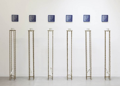Gina Pane, Siesta - Partition pour six paroles à une bombe, 1984, kamel mennour