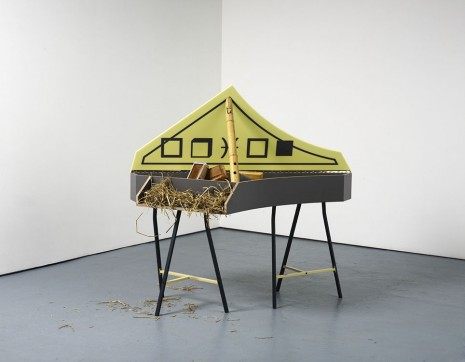 Steven Claydon, Orion (prepared spinet), 2012, Sadie Coles HQ