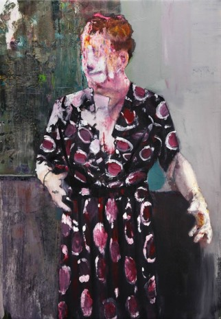 Adrian Ghenie, Pie Fight Interior 9, 2012, Tim Van Laere Gallery