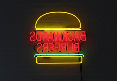 David Shrigley, Backwards Burgers, 2012, Anton Kern Gallery