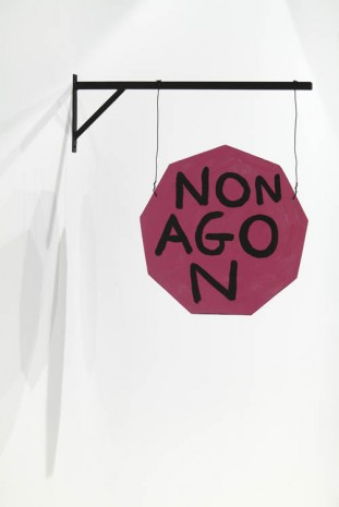 David Shrigley, Nonagon, 2012, Anton Kern Gallery