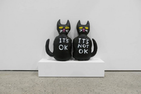 David Shrigley, Cat (It's OK, It's Not OK), 2012, Anton Kern Gallery