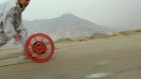 Francis Alÿs (In collaboration with Julien Devaux and Ajmal Maiwandi), REEL-UNREEL , 2011, David Zwirner