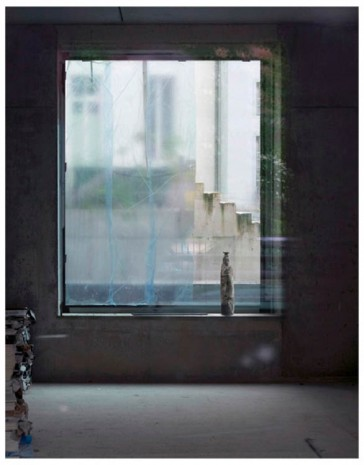 Sabine Hornig, Figur am Fenster/Figurine by the Window, 2011, Tanya Bonakdar Gallery