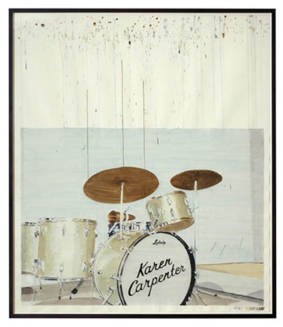 Dave Muller, Empty Drum Kit #4 (K.C.), 2013, The Approach