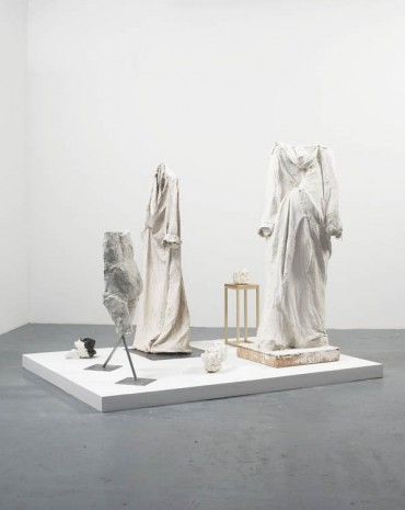 Liz Glynn, Process Monument (after Auguste Rodin, Monument to Balzac), 2013, Harris Lieberman (closed)