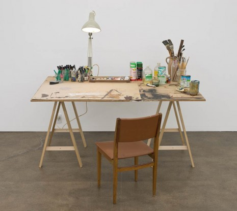 Dieter Roth / Björn Roth, Table Hegenheimerstrasse, 1980-2010, David Kordansky Gallery