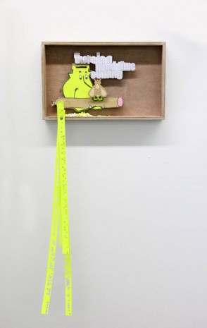 Benjamin Verdonck, There is a good time coming, 2013, Tim Van Laere Gallery