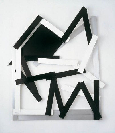 Imi Knoebel, Cut-up 13, 2011, Galerie Thaddaeus Ropac