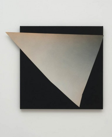 Kim Fisher, Magazine Painting (Protruding Triangle), 2012, China Art Objects Galleries