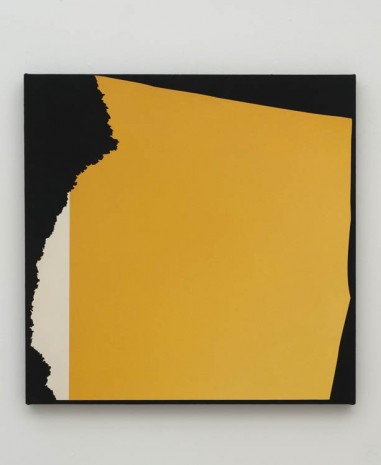 Kim Fisher, Magazine Painting (Gritty Yellow), 2012, China Art Objects Galleries