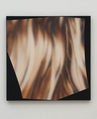Kim Fisher, Magazine Painting (Hair), 2012, China Art Objects Galleries
