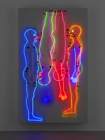 Bruce Nauman, Sex and Death/Double