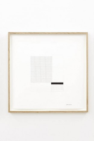 Grönlund-Nisunen, Automatic Drawing VI, 2013, Esther Schipper