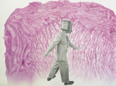 Jim Shaw, Appliance Big Foot Parting the Red Sea, 2013, Simon Lee Gallery