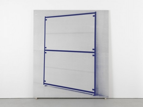 Alan Uglow, Portrait of a Standard (Blue), 2000, David Zwirner