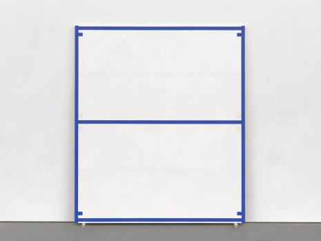 Alan Uglow, Standard #8 (Blue), 1994, David Zwirner