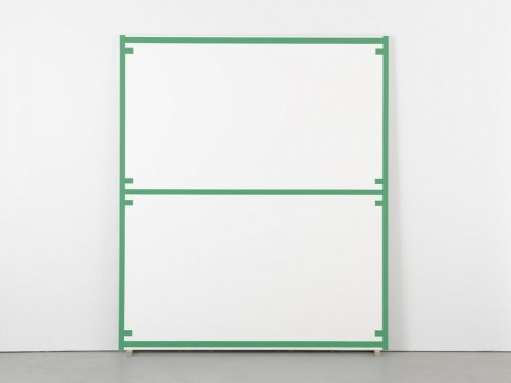 Alan Uglow, Standard #18 (Green), 1996, David Zwirner