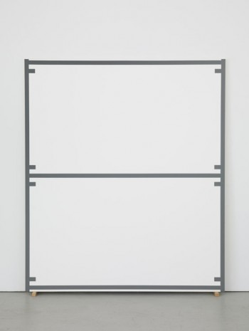Alan Uglow, Standard #23 (Grey), 1998, David Zwirner