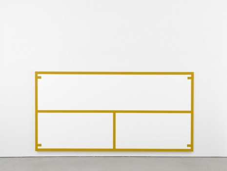 Alan Uglow, Stadium Series #6 (Yellow), 1996, David Zwirner