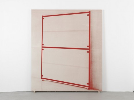 Alan Uglow, Portrait of a Standard (Red), 2000, David Zwirner