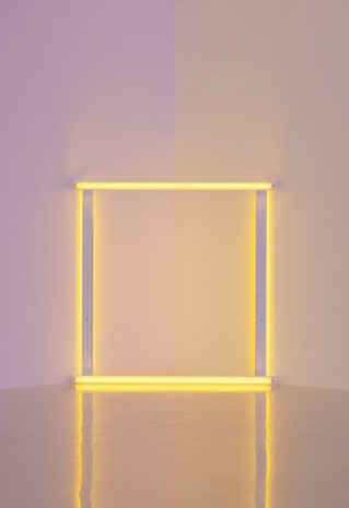 Dan Flavin, untitled (to Christina and Bruno), 1966-71, David Zwirner