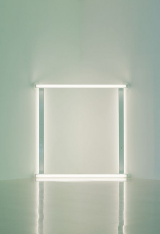 Dan Flavin, untitled (to Pia and Franz), 1966-71, David Zwirner