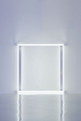 Dan Flavin, untitled (to Heidi and Uwe), 1966-71, David Zwirner