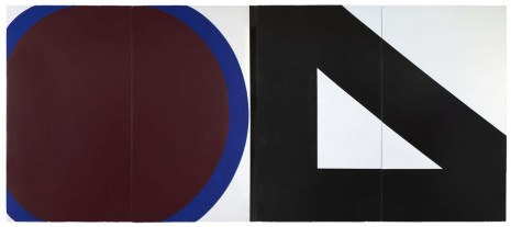 Al Held, CIRCLE AND TRIANGLE, 1964, Cheim & Read