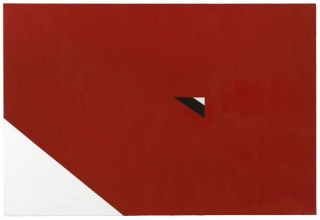 Al Held, UPSIDE DOWN TRIANGLE, 1966, Cheim & Read